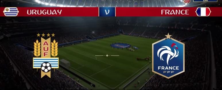 Wedden op Uruguay - Frankrijk WK 2018