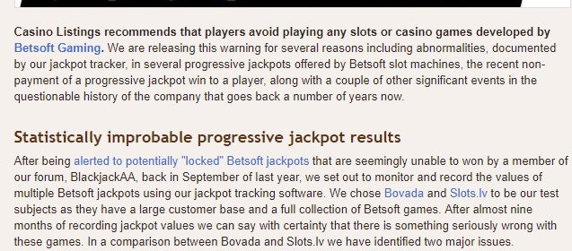Betsoft slots rigged