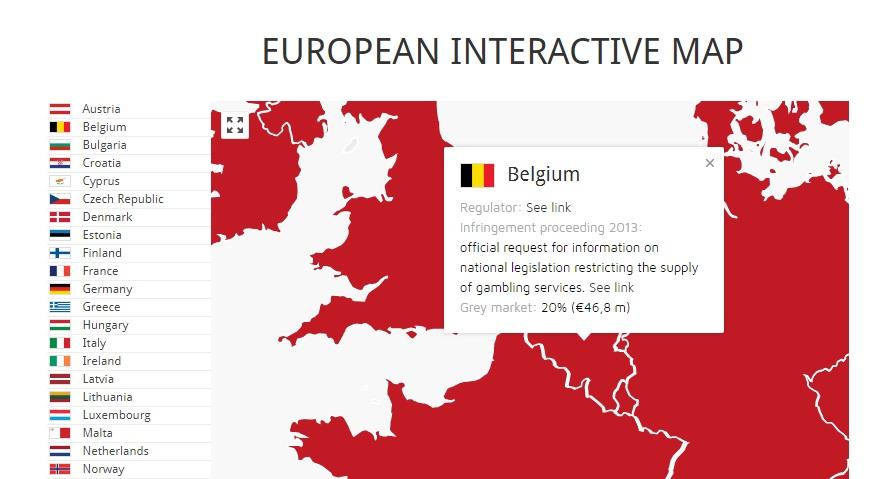 illegaal gokken in België