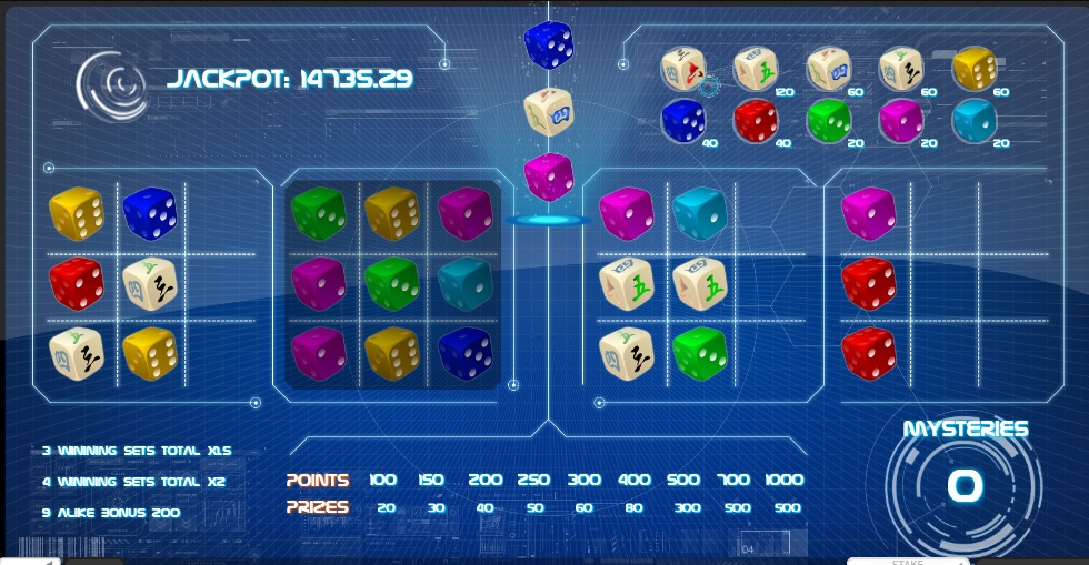 Jackpot Spinner dice game