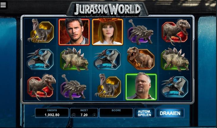MicroGaming - Jurassic World slot