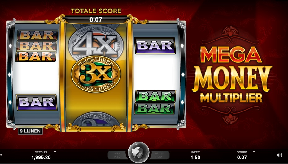 MicroGaming - Mega Money Multiplier online gokkast