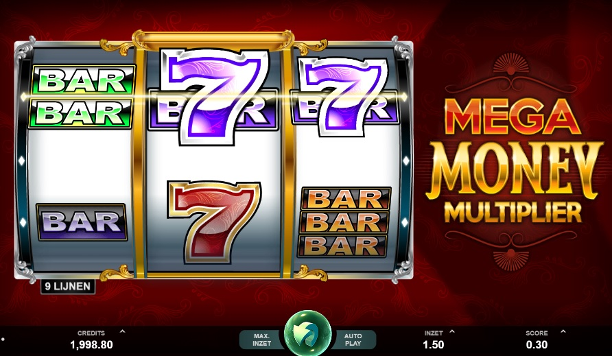 MicroGaming - Mega Money Multiplier slot