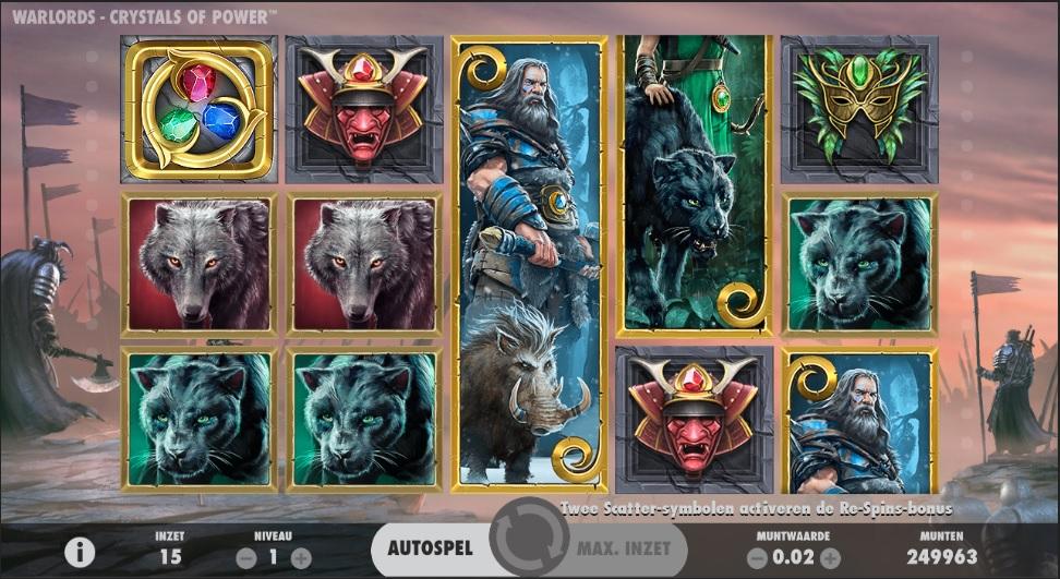 NetEnt - Warlords slot