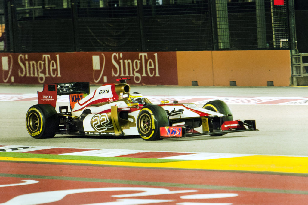 Wedden op GP Singapore