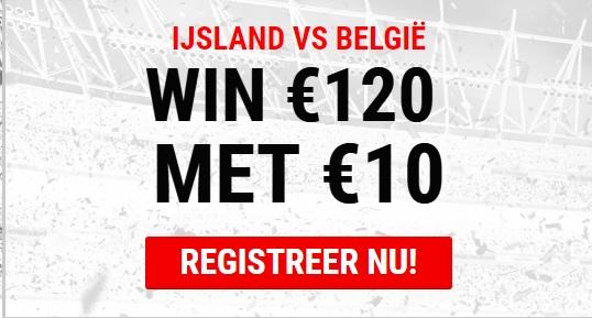 Wedden op IJsland - Belgie