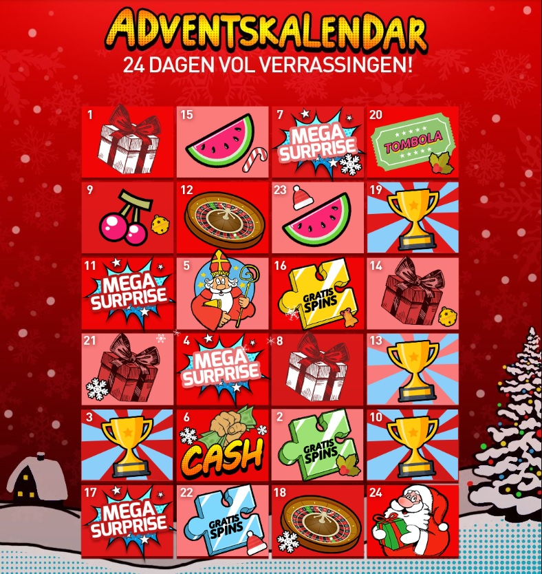 Adventskalender Casino 777