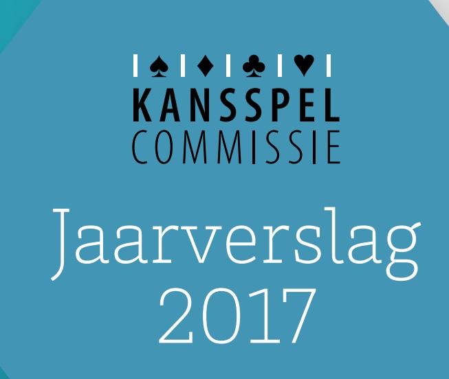 Jaarverslag 2017 kansspelcommissie