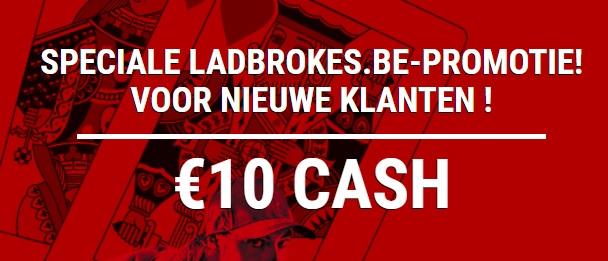 Ladbrokes 10 euro gratis