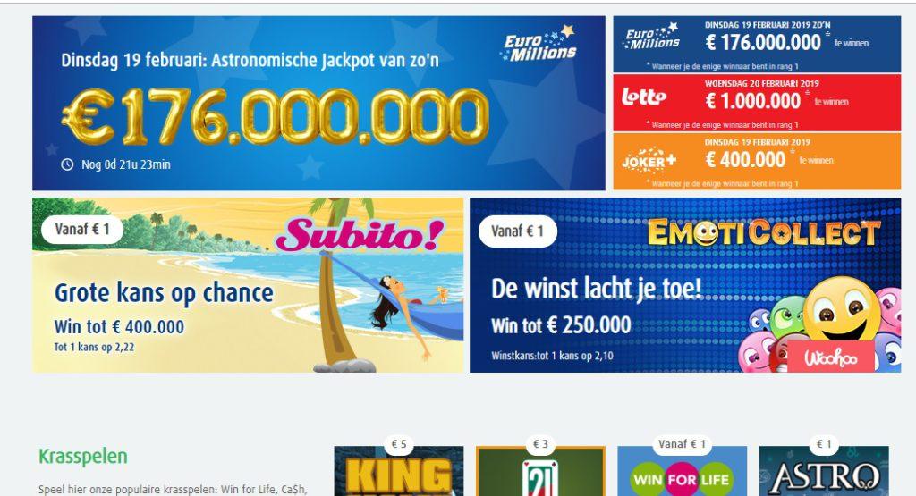 Krasloten nationale loterij