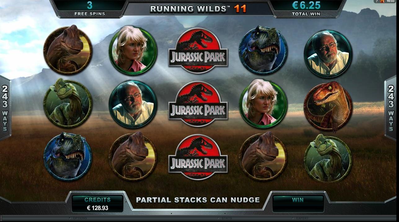 MicroGaming - Jurassic Park gokkast