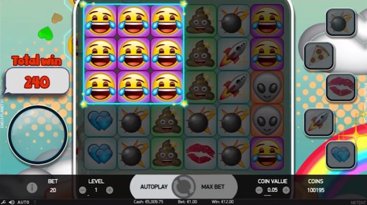 emojiplanet online slot machine