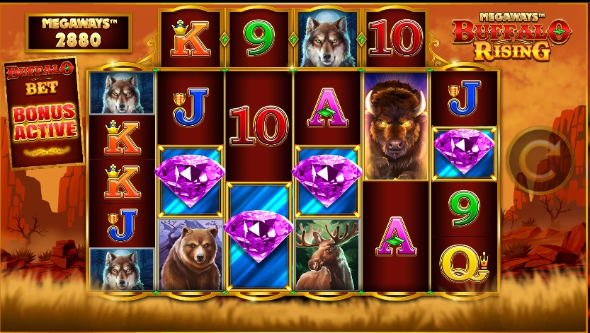 Buffalo Rising online slot
