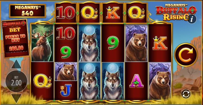 Buffalo Rising slot review
