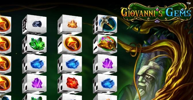 Giovanni's Gems dice slot