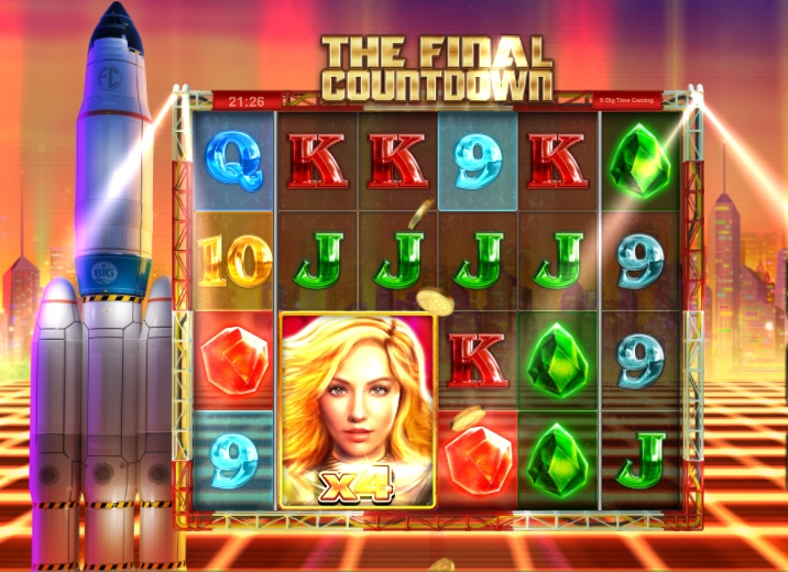 BTG - The Final Countdown gokkast