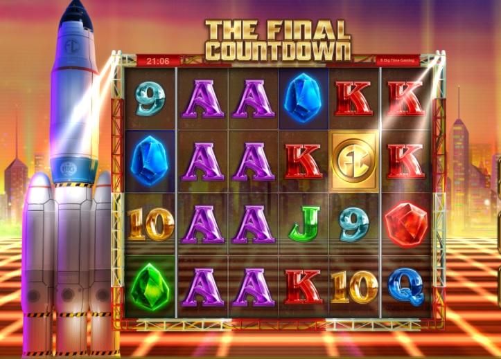 The Final Countdown slot machine