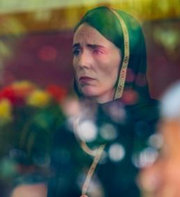 Jacinda Ardern hoofddoek