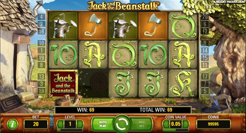 Jack and the Beanstalk gokkast