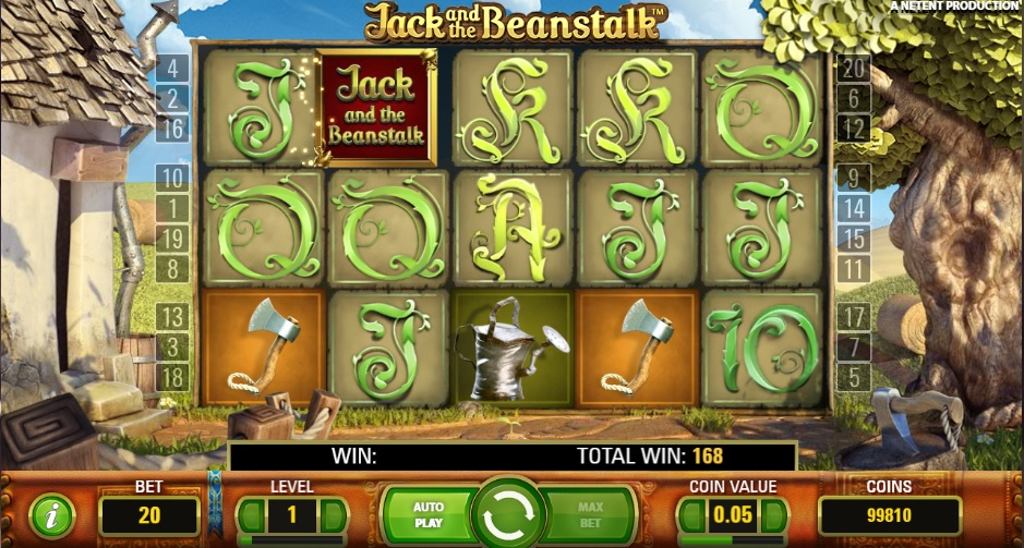 jack and the beanstalk online slot